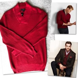 EXPRESS MENS RED SWEATER SZ M NWT